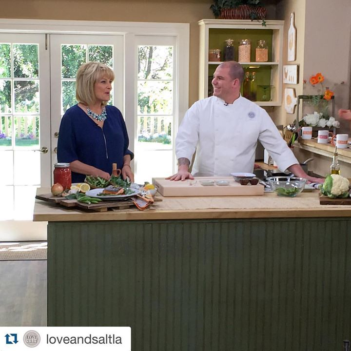 Love & salt Home & Family segment